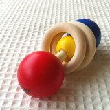 ネフ naef デュオ 【おもちゃ 木のおもちゃ 木製 出産祝い がらがら おしゃぶり ラトル ベビー 赤ちゃん 0歳 ネフ デュオ ネフ社】
