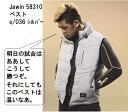 グロラン58310作業服 防寒ベスト M-EL軽量保温 Jawin自重堂 秋冬物