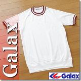 中学田径联合会建议在日本的产品。加拉克斯(Gyarekkusu)两个圆领条纹裤了3升[日本中学校体育連盟の推薦品。GALAX(ギャレックス)製二本線クルーネック半袖体操服3L/大きなサイズ]
