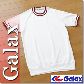 Japan Junior High School Athletic Federation recommended products. GALAX ( Galax )-2 line crew neck short sleeve gymnastics dress S-LLfs3gm