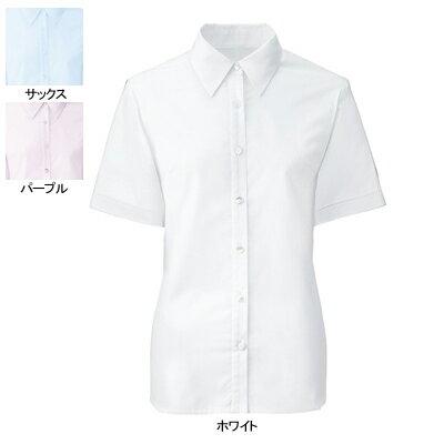 事務服・制服・オフィスウェア ヌーヴォ FB71029 ブラウス(半袖) 21号〜23号