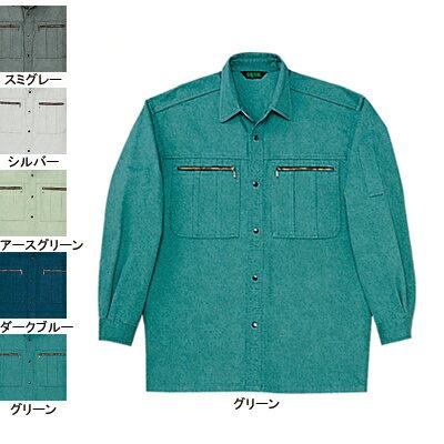 作業服・作業着 自重堂 30204 長袖シャツ XL