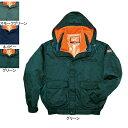 防寒着 防寒ブルゾン 自重堂 48010 ダブルライナー防寒ブルゾン(フード付) XL