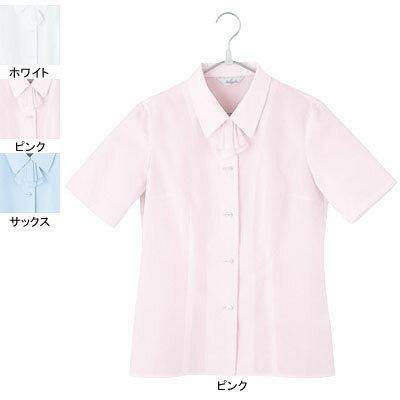 事務服・制服・オフィスウェア ピエ B2430-38 半袖ブラウス 5号〜15号