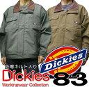 Dickies-TK783 ディッキーズ ストライプ 防寒ジャンパー/作業服/作業着 /防寒着/防寒服/防寒ブルゾン