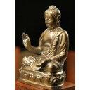 美术, 美术品, 古董, 民间工艺品 - 極小仏像(大)釈迦如来座像 61319【送料無料】