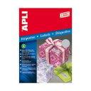 APLI インクジェットA4メタルラベル 10枚27面 63.5×29.6mm