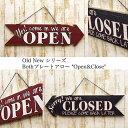 ブースプレートアロー Open&Closed オールドニュー Open&Closed