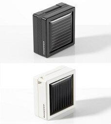 amadanaソーラーチャージャー選べる白黒2カラー GA-004 GA-004-WH ホワイト GA-004-BK ブラック太陽光発電 太陽電池 携帯充電器 AC充電器 バッテリー充電器docomo FOMA SoftBank用デザイン家電のアマダナ