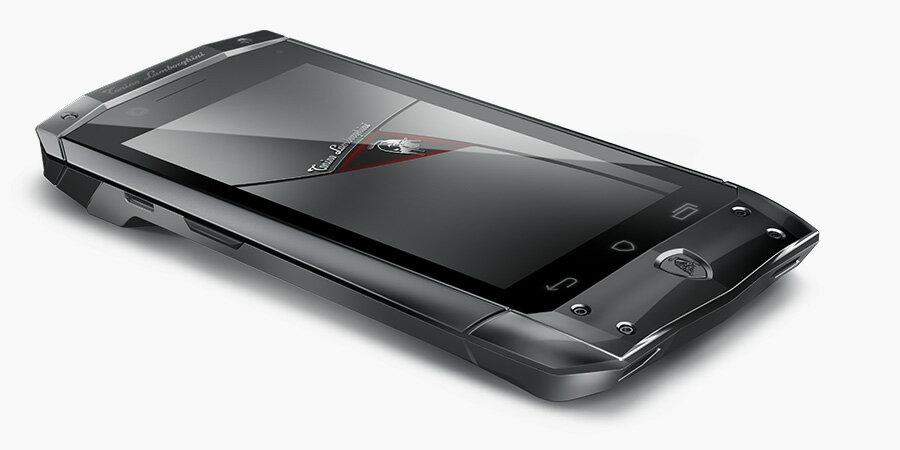 【送料無料】Tonino Lamborghini mobile Antares ランボルギーニ 公式 Android スマートフォン 高級携帯電話 正規品 ブラック 黒