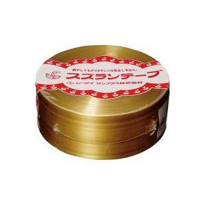 【送料無料】(業務用10セット)CIサンプラス スズランテープ/荷造りひも 【金/470m】 24203101