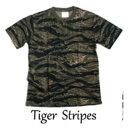 ショッピング迷彩 【送料無料】カモフラージュ Tシャツ( 迷彩 Tシャツ) JT048YN タイガー Mサイズ
