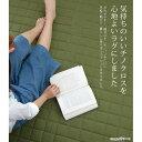 【送料無料】スミノエ ウォッシャブル ラグ チノクロスキルト 185×185cm グリーン【代引不可】