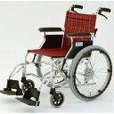 【送料無料】自走/介助兼折りたたみ車椅子 ラクポン/