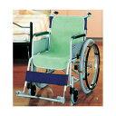 ショッピングシートカバー 【送料無料】ケアメディックス 車椅子シートカバー グリーン 44020G 1パック(2枚)