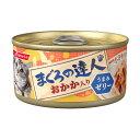 (まとめ)まぐろの達人缶 おかか入り うまみゼリー 80g【×48セット】【ペット用品・猫用フード】