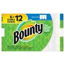 バウンティ ペーパータオル 6ロール (279×149mm2枚重ね105シート×6ロール) Bounty Paper Towels 3Rolls ペーパータオル キチぺ コストコ キッチンペーパー ダブル DOUBLE