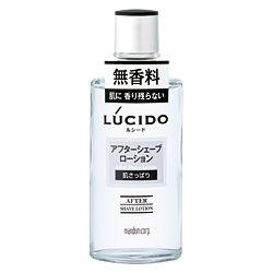 ルシード アフターシェーブローション 125ML LUCIDO 無香料 パラベンフリー 肌あれ マンダム 【24224】