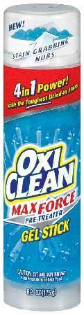 オキシクリーン マックスフォース ジェルスティック 175g 洗濯補助剤 洗濯補助(染み抜き)衣類のホワイトニング 洗濯用洗剤【18773】
