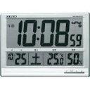 SEIKO 大型液晶電波掛置兼用時計 -【336-6138】