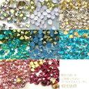 超高品質ガラス製 Vカットストーン ラインストーンスワロフスキーの様な輝き!レジン パーツ・デコ電・iPhoneデコ・デコパーツ