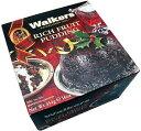 ドライフルーツのいっぱい詰まったクリスマスプディング★ウォーカー リッチフルーツプディング454g #3701
