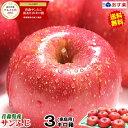 【送料無料】あす楽 青森りんご ご家庭用 サンふじ 3キロ箱りんご 家庭用訳あり 3kg箱青森 林檎