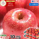 200円引き!あす楽【クール便対応】今ならミックス選べる!青森りんご ご家庭用 サンふじ 10キロ箱