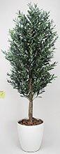 【送料無料・ポイント10倍】《アートグリーン》《人工観葉植物》光触媒 光の楽園 オリーブ 1.8