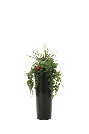 【送料無料・ポイント10倍】《アートグリーン》《人工観葉植物》光触媒 光の楽園 寄せ植えユッカ1.3 新築祝い・引越祝い・開店祝い・開業祝い・誕生日・バースデー・結婚・ウェディング・出産祝いなどのギフトに