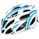 SH+ SHABLI S-LINE ホワイト/ブルー ヘルメット