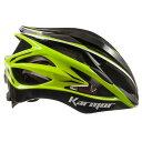 【現品特価】カーマー ASMA2(アスマ2) ブラック/ライトグリーン ヘルメット Karmor