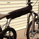 Filter BD-1 モノコックフレーム用カバー ブラック 【自転車】【小径車パーツ】【BD-1/ブロンプトンオプションパーツ】