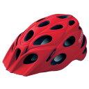 カットライク Leaf (リーフ) マットレッド(R002) ヘルメット CE【自転車】【ヘルメット(大人用)】【カットライク】