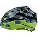 送料無料/カットライク Mixino (ミクシノ) グリーンブラック(R008) ヘルメット