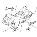[8]握り幅調整ネジ 【自転車】【シマノスモールパーツ】【ロードレーサー用】【ULTEGRA】【ST6800用スモールパーツ】