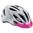 メット 20マイルス パールホワイト/ピンク ヘルメット 【自転車】【ヘルメット(大人用)】【MET】