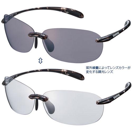スワンズ SABE-0066 エアレス・ビーンズ 調光レンズモデル