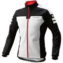 パールイズミ 【B3500BL】ウィンドブレークジャケット 25.ホワイト/ブラック(2サイズワイド)(5℃対応)
