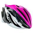メット ストラディバリウス HES ピンク×ブラック×ホワイト ヘルメット