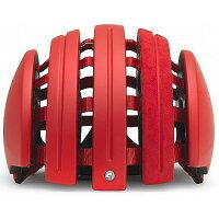 【特急】【現品特価】カレラ Foldable Suede Helmet Red Matte(LW3)の画像