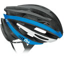 zerorh+ EHX6055 ZY 43マットブラック/アローマットブルー/ホワイト ヘルメット