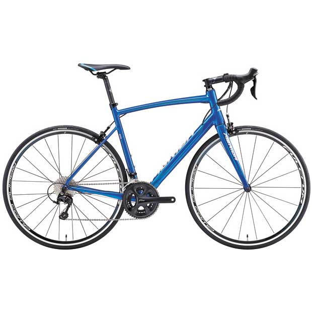 【】17メリダ RIDE 400 メタリックブルー(ブルー/ ホワイト)