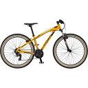 【送料無料】【代引不可】18ビアンキ KUMA 27.4 SHIMANO 3×7SP V-BRAKE Yellow