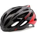【特急】【SALE】ジロ SAVANT ワイドフィット ブライトレッド/ブラック ヘルメット