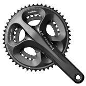 【現品特価】シマノ アルテグラ ホローテック2 コンパクトクランクセットFC-6750-G(50-34T)グロッシーグレー 【自転車】【ロードレーサーパーツ】