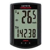 【特急】キャットアイ CC-RD310W ストラーダスリム ワイヤレス ブラック 【自転車】【サイクルメーター】