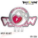 【最新モデル】CM-326 OPEN HEART おしゃれなクリップ&マーカーセット【WINWIN STYLE】