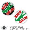 楽天ワールドゴルフWINWIN STYLE ウィンウィンスタイル メガマーカー WINWIN アリゲーター メール便選択可能