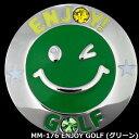 グリーン上で目立つ!メガマーカー MM-176 ENJOY GOLF グリーン スワロフスキークリスタル付き 【ポイント2倍】【最安値に挑戦】【ssmkhc】【あす楽】